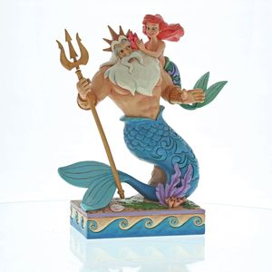 Daddys Little Princess (Ariel & King Triton Figurine)