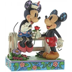 Disney Traditions Blossoming Romance (Mickey & Minnie Mouse) Figurine