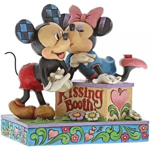 Disney Kissing Booth Mickey & Minnie Mouse Figurine