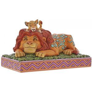 A Fathers Pride Simba & Mufasa Disney Figurine