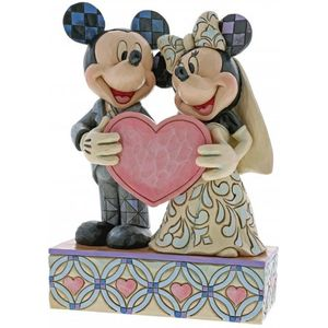 Disney Traditions Two Souls, One Heart (Mickey & Minnie Wedding) Figurine