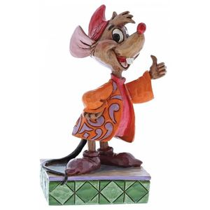 Disney Traditions Thumbs Up (Cinderella Jaq) Figurine