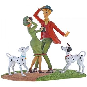 Disney Enchanting Scene Figurine - Just Had To Meet (101 Dalmatians)