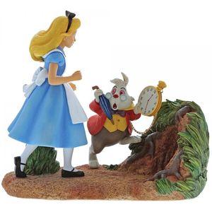Mr Rabbit Wait (Alice in Wonderland Scene Figurine)