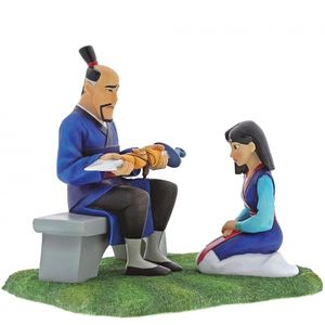 Disney Enchanting Scene Figurine - To Honour (Mulan)