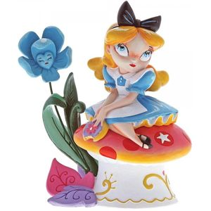 Disney Miss Mindy Alice on Mushroom (Alice in Wonderland) Figurine