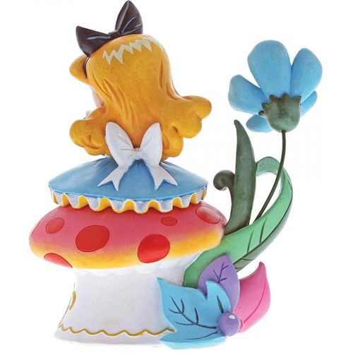 Miss Mindy Disney Alice on Mushroom Figurine