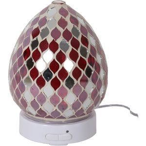 Aroma Electric Essential Oil Diffuser: Red Mirror Teardrop