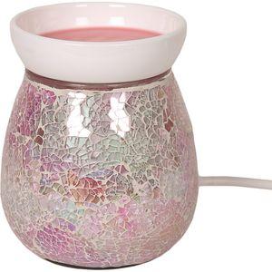Aroma Electric Wax Melt Burner: Pink Crackle