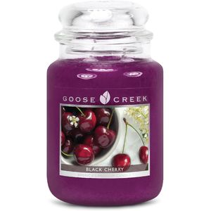 Goose Creek Large Jar Candle - Black Cherry