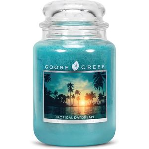 Goose Creek Large Jar Candle - Tropical Daydream