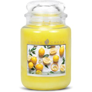 Goose Creek Large Jar Candle - Lemon Peel