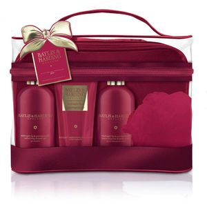 Bayliss & Harding Toiletry Bag Gift Set - Midnight Fig & Pomegranate