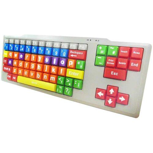Kids High Contrast PC Keyboard (Lower Case Large Keys)