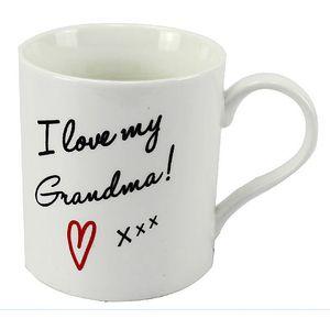 I Love my Grandma Fine China Mug