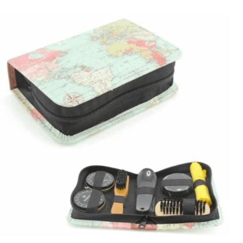 World Traveller Shoe Cleaning Kit