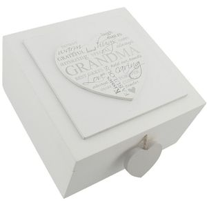 Celebrations Heartfelt Moments Keepsake Box - Grandma