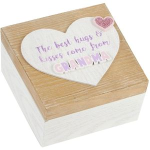 Celebrations Lasting Memories Keepsake Box - Grandma
