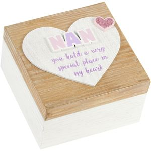 Celebrations Lasting Memories Keepsake Box - Nan