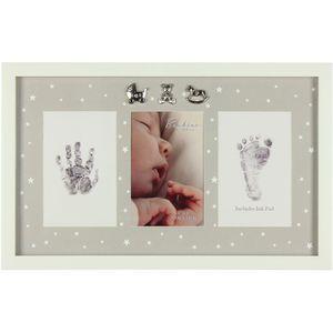 Bambino Baby Photo Frame Hand / FootPrint & Ink Pad
