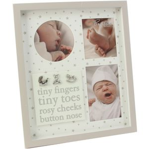 Bambino Multi Baby Photo Frame Tiny Fingers