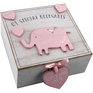 Petit Cheri My Special Keepsake Box (Pink)