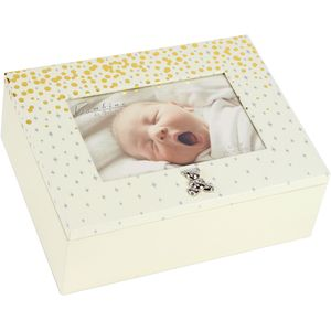 Juliana Bambino Baby Keepsake Storage Photo Box
