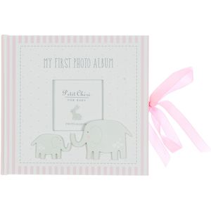 Petit Cheri Baby Photo Album - My First Photo Album (Pink)