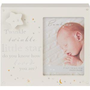 "Juliana Bambino Musical Photo Frame 4x6"" - Twinkle Twinkle Little Star"