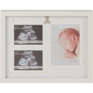 Juliana Bambino Baby Scan Collage Photo Frame - First Photo & First/Second Scans