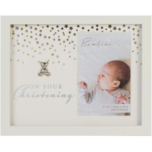 "Bambino Photo Frame 4x6"" - On Your Christening"