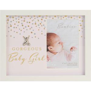 "Juliana Bambino Photo Frame 4x6"" - Gorgeous Baby Girl"