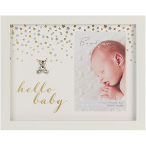 "Juliana Bambino Photo Frame 4x6"" - Hello Baby"