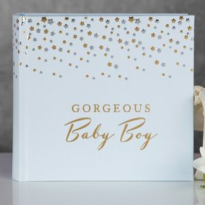 Bambino Little Stars Photo Album Baby Boy
