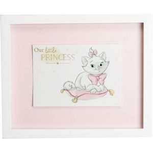 "Disney Magical Beginnings Wall Plaque - Aristocrat Marie "" Our Little Princess"""
