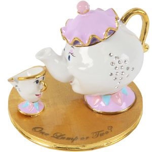Disney Classic Trinket Box - Mrs Potts & Chip