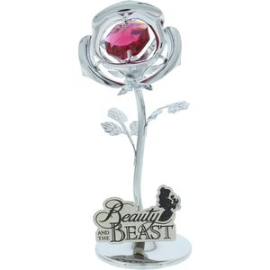 Disney Chrome Plate Rose Beauty & The Beast
