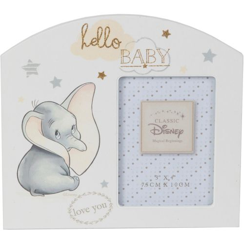 """Disney Magical Beginnings Arch Photo Frame - Dumbo Holds One 3"""" x 4"""" Photograph"""