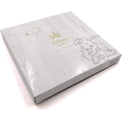 """Disney Magical Beginnings Baby Girl Photo Frame - Pooh & Piglet Holds One 4"""" x 6"""" Portrait Photograp"""