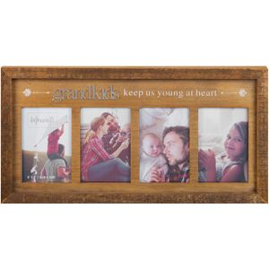Moments Wooden Multi Photo Frame - Grandkids