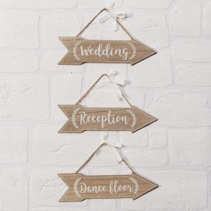 Celebrations Love Story Set of 3 Arrows - Wedding - Reception - Dance Floor
