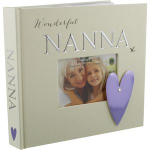 "Nanna Photo Album Holds 50 4x6"" Photos"