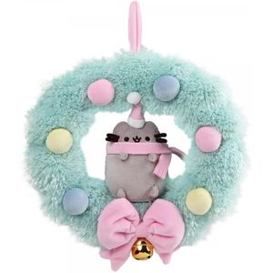 GUND Pusheen Christmas Wreath