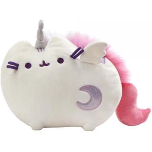 Gund Pusheen Super Pusheenicorn Soft Toy with Light & Sound - White