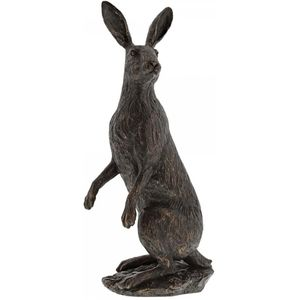 Border Fine Arts Studio Bronze Hare (Large) Figurine