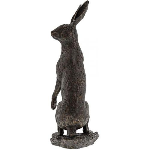 Border Fine Arts Studio Bronze Hare (Large) Figurine