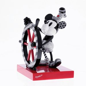 Disney by Britto Steamboat Willie Figurine