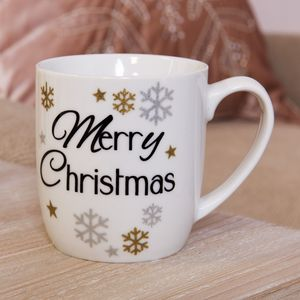 Festive Ceramic Mug - Merry Christmas