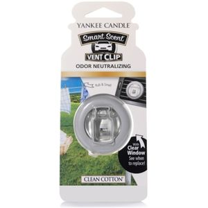 Yankee Candle Smart Scent Vent Clip - Clean Cotton