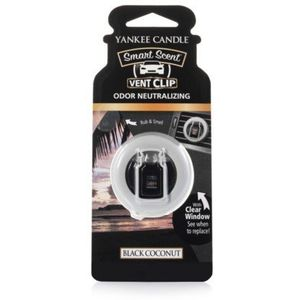 Yankee Candle Smart Scent Vent Clip - Black Coconut